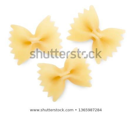 Csokornyakkendő tészta egyéb hozzávalók paradicsomok közelkép Stock fotó © Digifoodstock