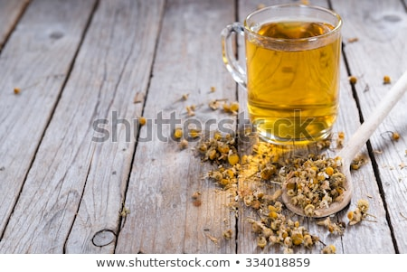 Portion of dried Chamomile Stock photo © Lana_M