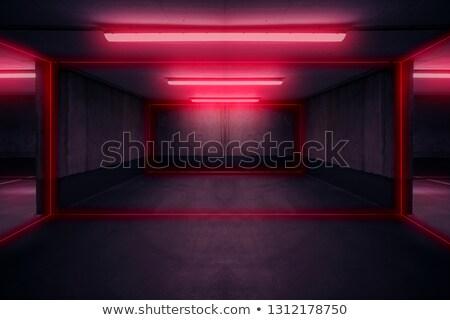 Mystic shiny corridor Stock photo © SwillSkill