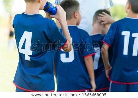 Rugby wiszący szatnia niebo Zdjęcia stock © wavebreak_media