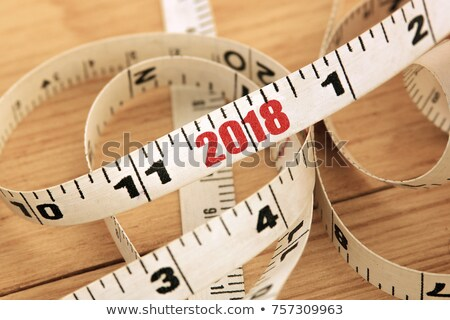 year 2018 scale concept stock photo © ivelin