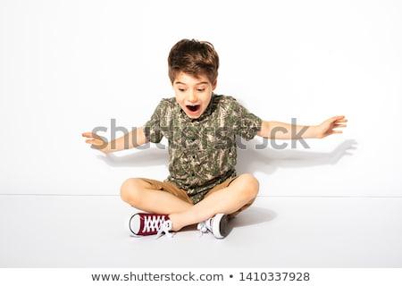 kid  sitting Stock photo © Traimak