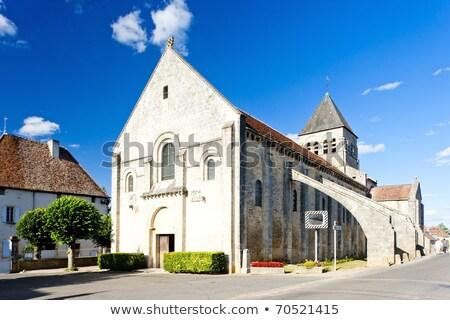 opactwo · centrum · Francja · budynku · architektury · historii - zdjęcia stock © phbcz