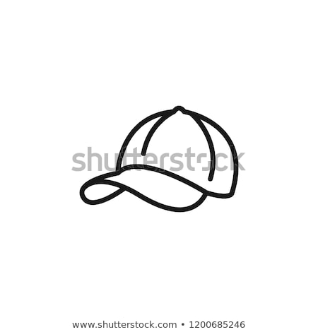 Baseball cap icon Stock photo © angelp