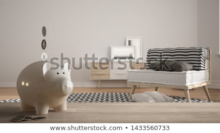 Сток-фото: белый · Банки · жизни · домой · темно