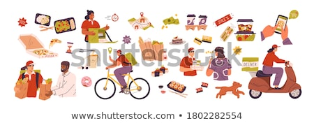 food in lunch box Stock photo © tycoon