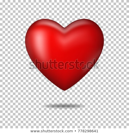 Stock photo: red hearts holiday banner