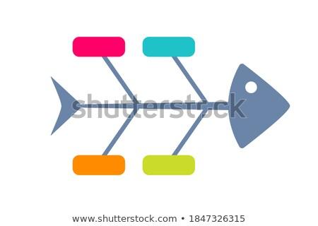 fishbones, vector Stock photo © beaubelle