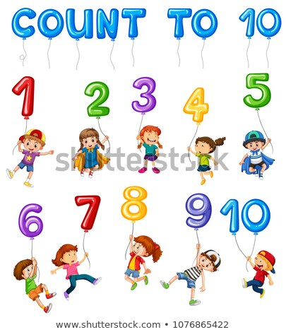 Mathematics Card Couting Number Chapter Stock photo © colematt