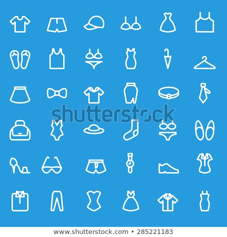 Bra icons set Stockfoto © netkov1