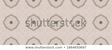 Stock photo: Brown craft paper with black dotted lines