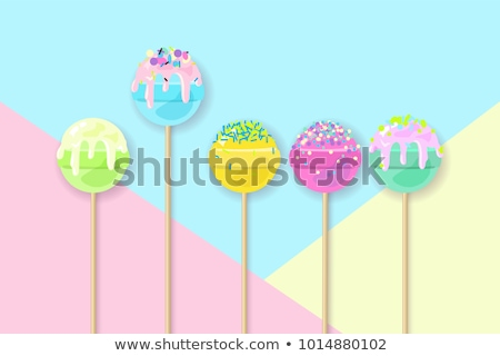 Confectionary - modern flat design style colorful illustration Stock photo © Decorwithme