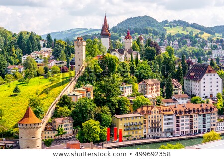 Musegg Wall, Lucerne stock photo © borisb17