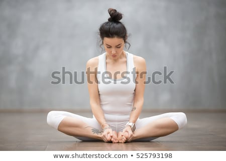 Fitness Working Out Woman, Flexibility Exercise Stock photo © robuart
