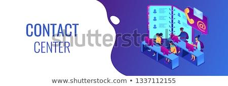 vásárló · kapcsolat · vezetőség · menedzser · kezek · stratégia - stock fotó © rastudio