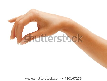 close up of a female hand picking money stock photo © shustriks