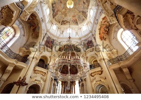 Kerk Praag gebouw stedelijke architectuur Stockfoto © manfredxy
