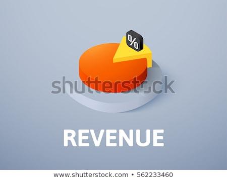 Business graphics charts isometrische taart grafiek Stockfoto © robuart