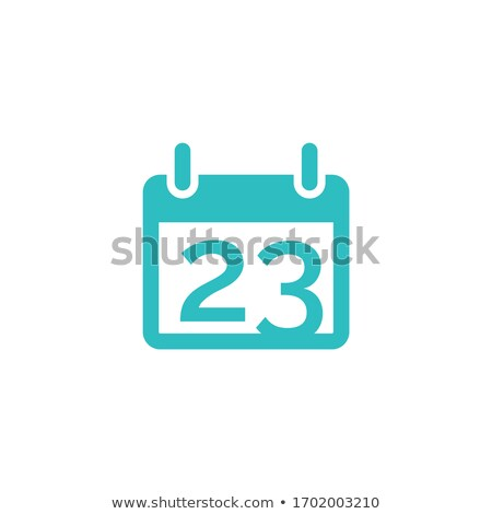 Calendario organizzatore icona promemoria riunione simbolo Foto d'archivio © kyryloff
