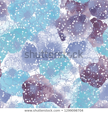Purple peony flower as abstract floral background for holiday branding Stock photo © Anneleven