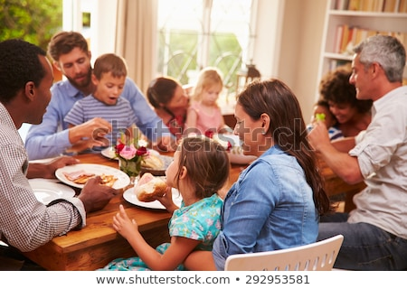 Family supper Stock photo © Paha_L