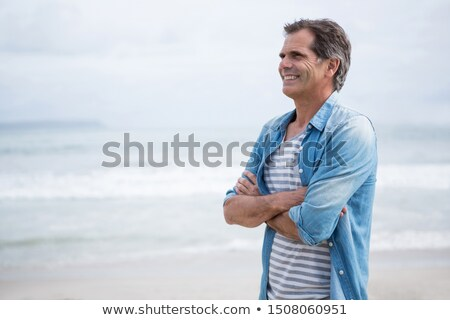 a mature man by the seashore stock photo © photography33