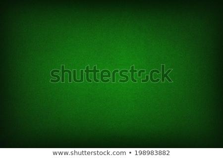 Green poker table felt background Stock photo © REDPIXEL