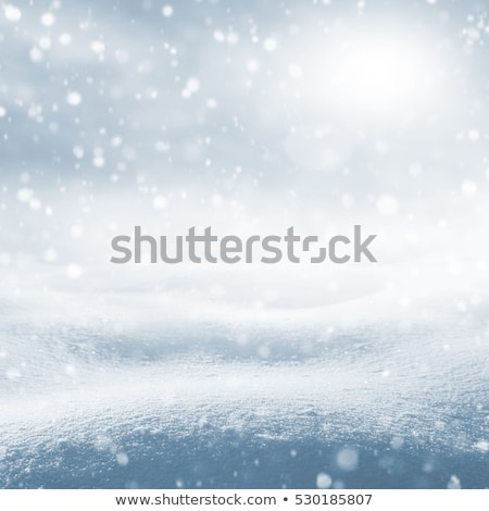 snow background with wave and snowdrift Stock photo © artush