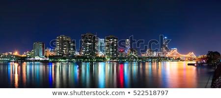 Сток-фото: Брисбен · ночному · городу · Квинсленд · Австралия · ночь