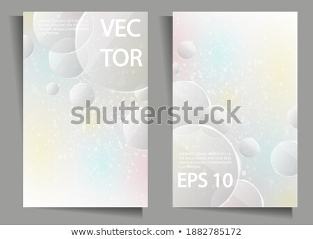 Stock image of water formula made out of water Stock photo © ozaiachin