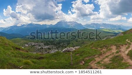 Dolomiti, Odle-Puez massif Stock photo © Antonio-S