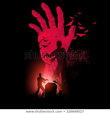 Zombie Rising Sign Stock photo © Lightsource
