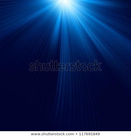absztrakció · kék · karácsony · eps · vektor · akta - stock fotó © beholdereye