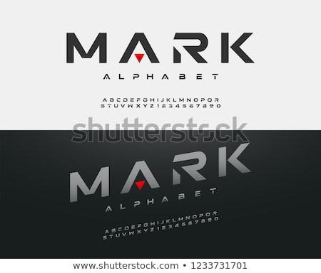 futurisztikus · fém · csíkos · vízszintes · copy · space · acél - stock fotó © ABBPhoto