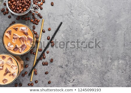 chicchi · di · caffè · bianco · caffè · cafe · nero · mercato - foto d'archivio © rob_stark