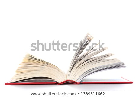 Person with a opened red book Stock photo © Kirill_M