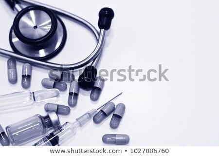 Stethoscope Drugs Stock photo © idesign