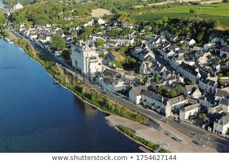 Chateau de Montsoreau, Pays-de-la-Loire, France Stock photo © phbcz