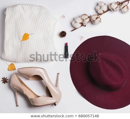 Donne moda rosa shopping Foto d'archivio © sidmay