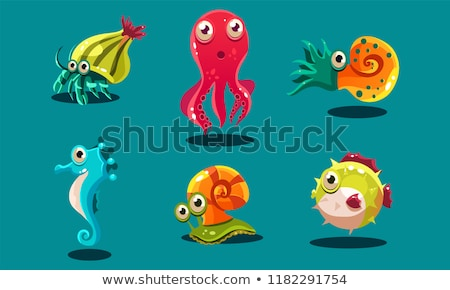Funny snail Stock photo © anbuch
