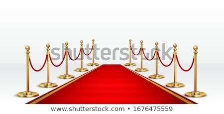 red carpet object Stock photo © flipfine