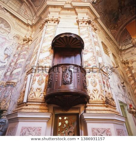 splendid baroque church interior Stock photo © lightpoet