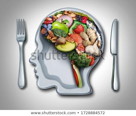 Dieta psicologia peso scala umani Foto d'archivio © Lightsource