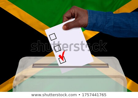 Ballot box Jamaica Stock photo © Ustofre9