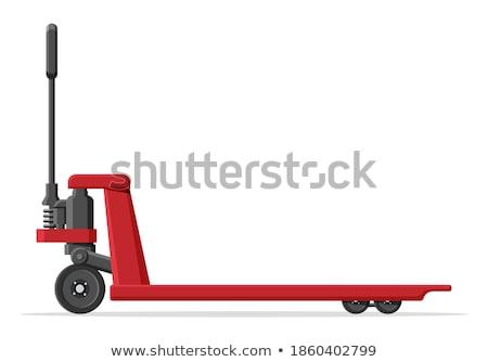 heftruck · bereiken · vrachtwagen · top · plank - stockfoto © andreasberheide