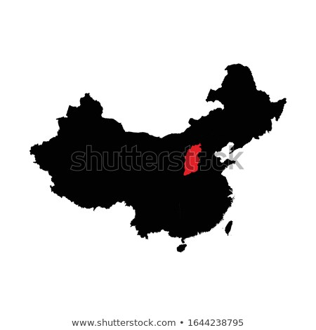 Map of People's Republic of China - Shanxi province Stock photo © Istanbul2009