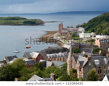 View from Oban, the Scottish town in Argyll and Bute Stock photo © Julietphotography
