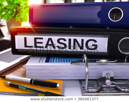 Mortgage on Office Folder. Toned Image. Stock photo © tashatuvango