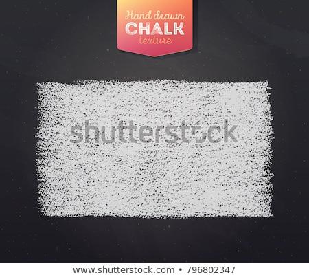 Renkli tebeşir tahta uzay metin görüntü Stok fotoğraf © andreasberheide