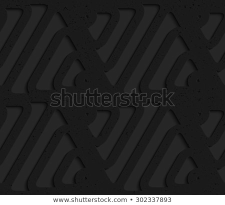 Zwarte plastic grid abstract meetkundig Stockfoto © Zebra-Finch